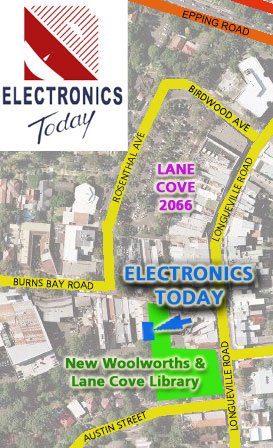 Electronics Today - Pickup and Delivery location